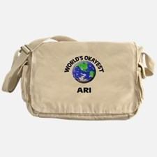 World's Okayest Ari Messenger Bag