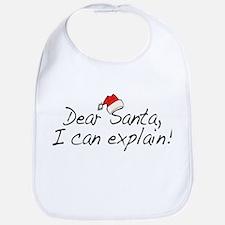 Santa Explain Bib