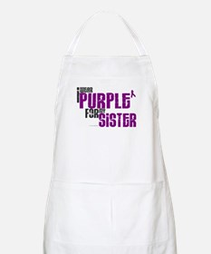 I Wear Purple For My Sister 6 (PC) BBQ Apron