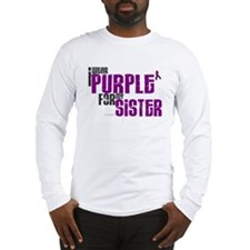 I Wear Purple For My Sister 6 (PC) Long Sleeve T-S