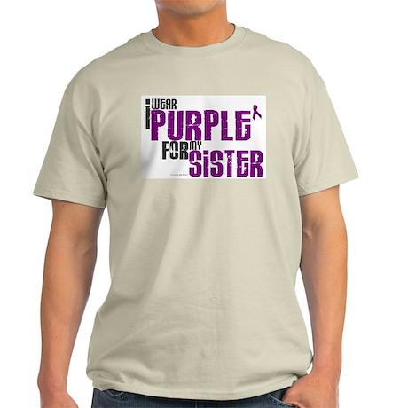 I Wear Purple For My Sister 6 (PC) Light T-Shirt