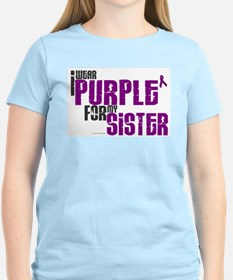 I Wear Purple For My Sister 6 (PC) T-Shirt