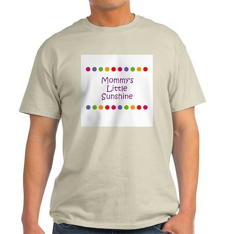 Mommy's Little Sunshine Light T-Shirt