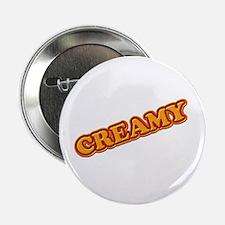 """CREAMY 3-D 2.25"""" Button"""
