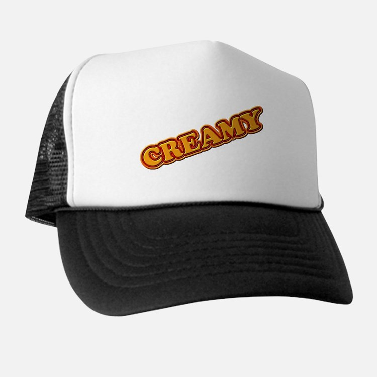 CREAMY 3-D Trucker Hat