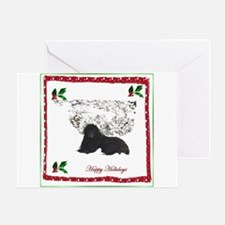 Happy Holidays Ursa Greeting Card