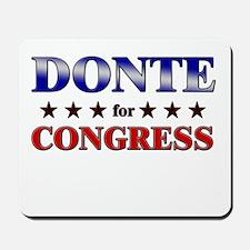 DONTE for congress Mousepad
