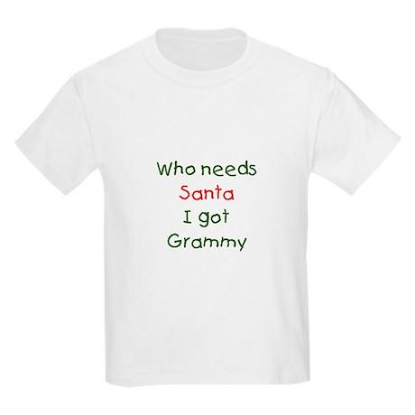 Santa Grammy Kids Light T-Shirt