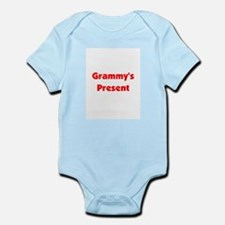 Grammy's Present -red Infant Bodysuit