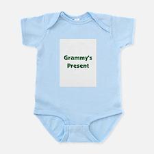 Grammy's Present -green Infant Bodysuit
