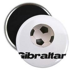 Gibraltar Soccer Magnet