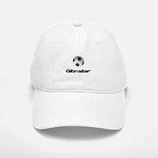 Gibraltar Soccer Baseball Baseball Cap