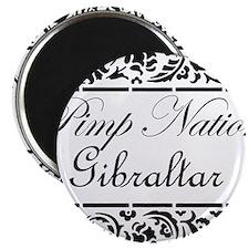 Pimp nation Gibraltar Magnet