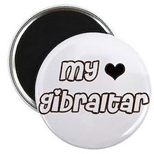 my heart Gibraltar Magnet