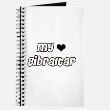 my heart Gibraltar Journal