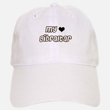 my heart Gibraltar Baseball Baseball Cap