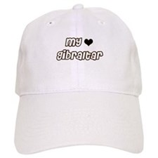 my heart Gibraltar Baseball Cap