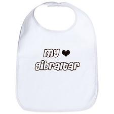 my heart Gibraltar Bib