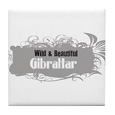 Wild Gibraltar Tile Coaster