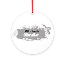Wild Gibraltar Ornament (Round)