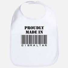 Proudly made in Gibraltar Bib