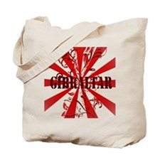 Red vintage Gibraltar Tote Bag