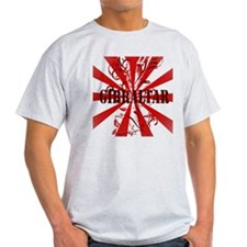 Red vintage Gibraltar T-Shirt