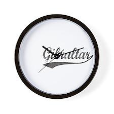 Gibraltar flanger Wall Clock