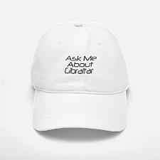 Askme about Gibraltar Baseball Baseball Cap