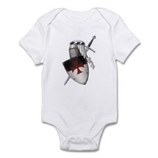 Knights Templar Infant Bodysuit