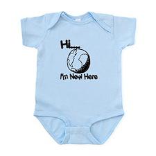 New Here Infant Bodysuit