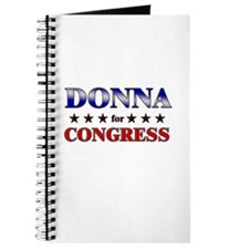 DONNA for congress Journal