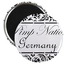 Pimp Nation Germany Magnet