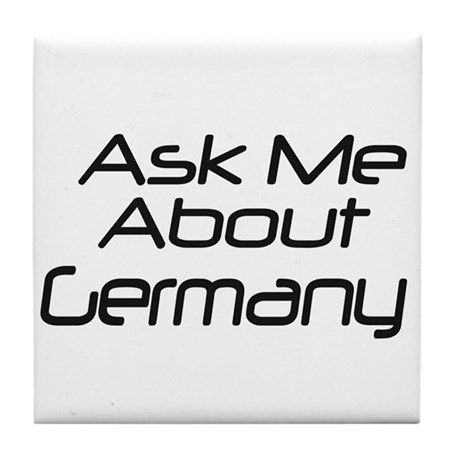 Ask me about Germany Tile Coaster