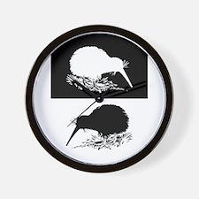 Kiwi birds Wall Clock