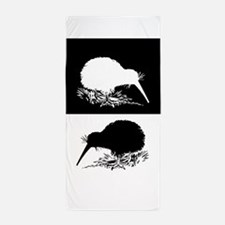Kiwi birds Beach Towel