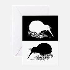 Kiwi birds Greeting Cards
