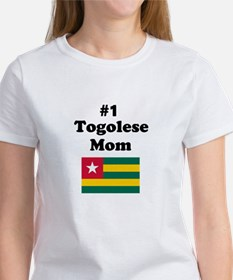 #1 Togolese Mom Mother Women's T-Shirt
