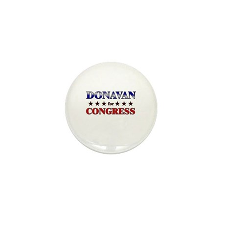 DONAVAN for congress Mini Button