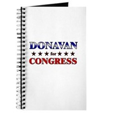 DONAVAN for congress Journal