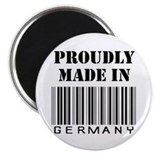 Proudly made in Germany Magnet