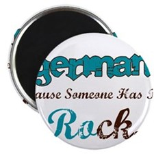 German Rocks Magnet