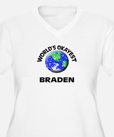 World's Okayest Braden Plus Size T-Shirt