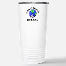 World's Okayest Braden Stainless Steel Travel Mug