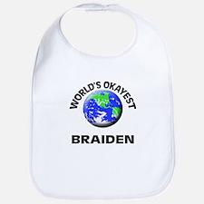World's Okayest Braiden Bib