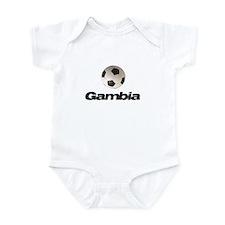 Gambia Soccer Onesie
