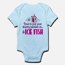 Shanty Panties Ice Fishing Infant Bodysuit