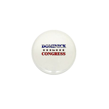DOMINICK for congress Mini Button (10 pack)
