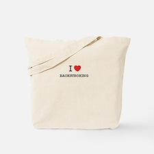 I Love BACKSTROKING Tote Bag
