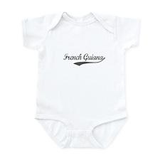 French Guiana flanger Infant Bodysuit